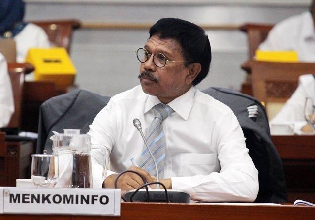 Helmy Dipecat dari TVRI, Johnny: Yang Paling Berwenang Itu DPR
