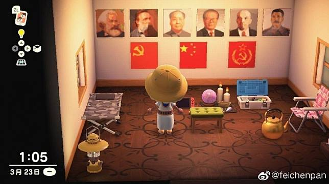Animal Crossing removed in China amid flood of Hong Kong protest art
