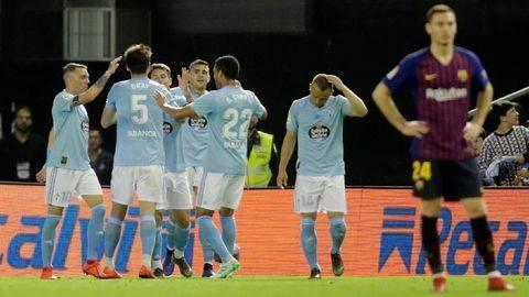 Liga Spanyol: Tim Pelapis Barcelona Dihajar Celta Vigo 0-2