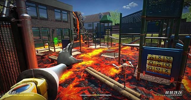 Steam超好評《Hot Lava》非傳統線性跑酷同樂,《別挨餓》團隊最新作