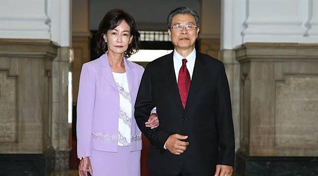 楊烈總統府「就職」喊緊張 應采靈扮總統夫人