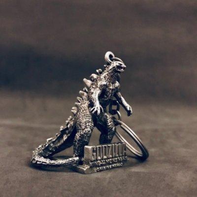鐵製 傳奇 哥吉拉 2019 怪獸之王 吊飾 鑰匙圈 非 基多拉 黑多拉 摩斯拉 販售為全新袋裝