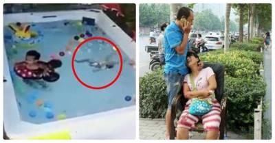 Cảnh báo: Bé 3 tuổi tử vong thương tâm vì bố mẹ mải mê chơi điện thoại