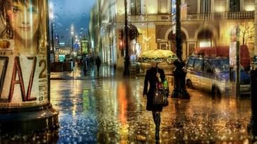 是油畫還是攝影?! 戰鬥民族攝影師雨中美景