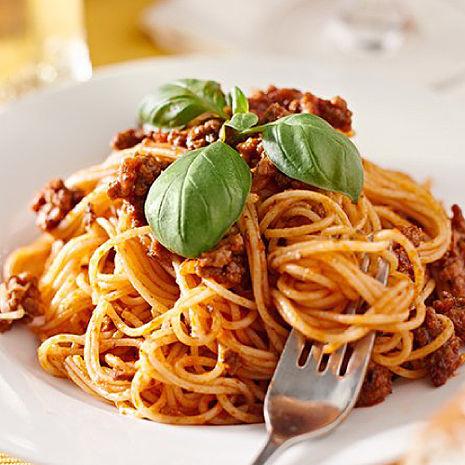 【豪鮮牛肉】大份量義大利麵組4種口味任選5組(麵體180g醬料150g)番茄紅醬