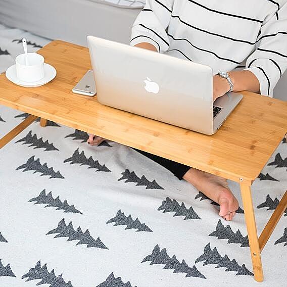 折疊筆電電腦桌床上用小桌子宿舍懶人簡約書桌學習桌xw