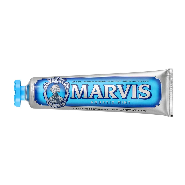 義大利Marvis - 海洋薄荷牙膏-藍-85ml