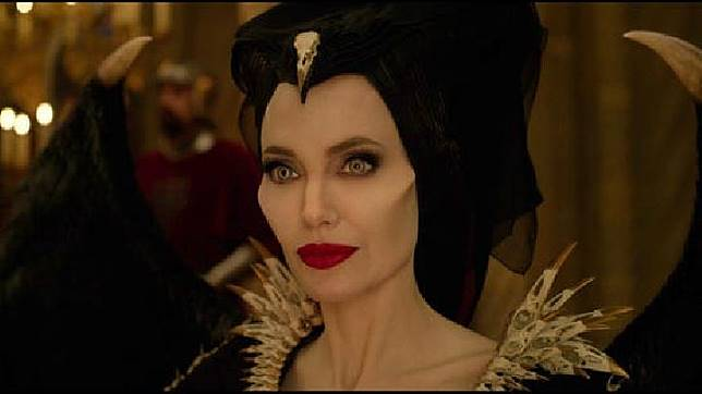 Angelina Jolie dalam film Maleficent: Mistress of Evil. (USA Today)