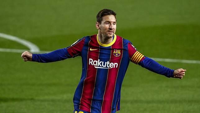 Lionel Messi 2 Gol, Barcelona Pesta Gol ke Gawang Getafe