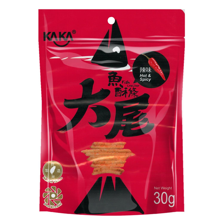 卡卡KAKA - 大尾醬燒魚酥條(辣味)-30g