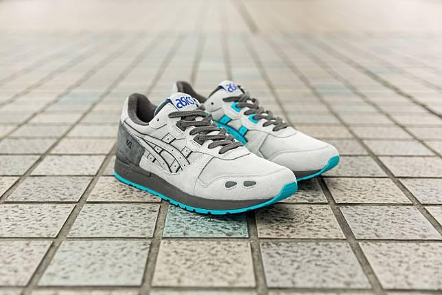 """Sepatu terbaru yang diproduksi sebagai kolaborasi size? dengan ASICS Tiger  adalah model Gel-Lyte OG """"Japanese Baseball"""" dengan fitur-fitur seperti ..."""