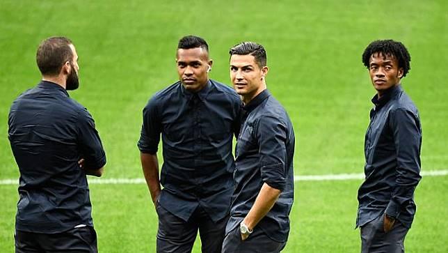 Jelang Duel, Ronaldo Cs Tampil Keren di Markas Atletico Madrid
