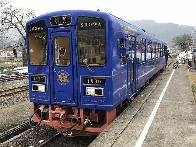 人氣觀光列車昭和會於展示期間在站內出現,大家睇下有冇機會撞見。(互聯網