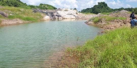kolam bekas tambang di Samarinda. ©2019 Merdeka.com
