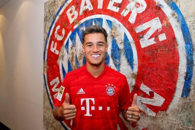 Penuh Senyum, Coutinho Tak Sabar Jalani Petualangan Baru di Bayern