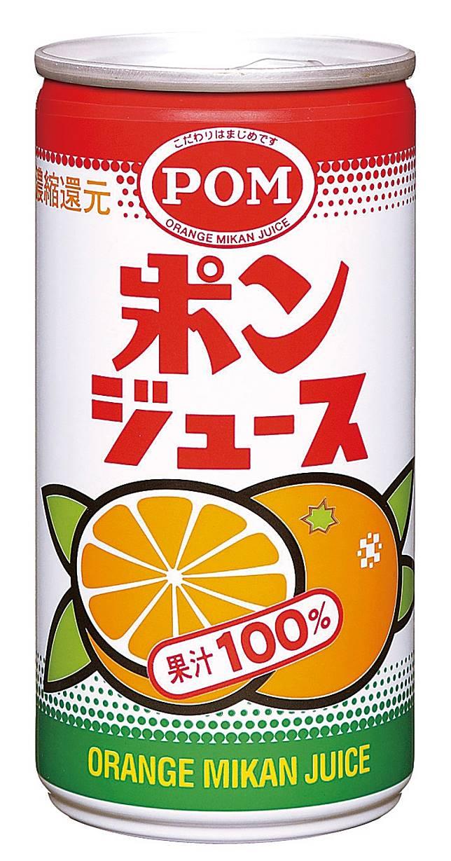 排第6位的POM JUICE由橙汁溝日本國產溫州密柑汁所製成,想試日本國產口味的話就要試試了。(互聯網)