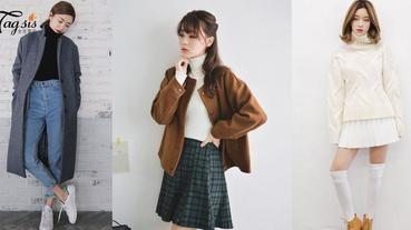 女神穿甚麼?高領毛衣顯氣質~顏色配搭超講究的~不要錯配哦!
