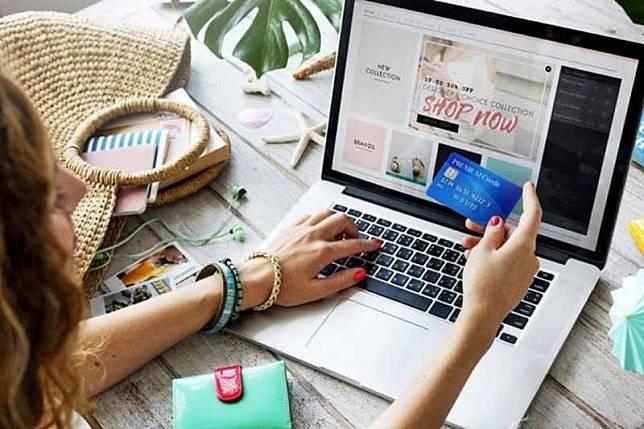 Banyak warganet Indonesia belum pernah belanja online