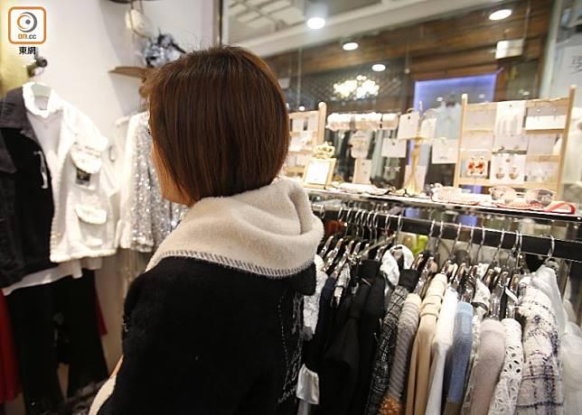 陳小姐擔心今年生意欠佳,會拖累下年表現。