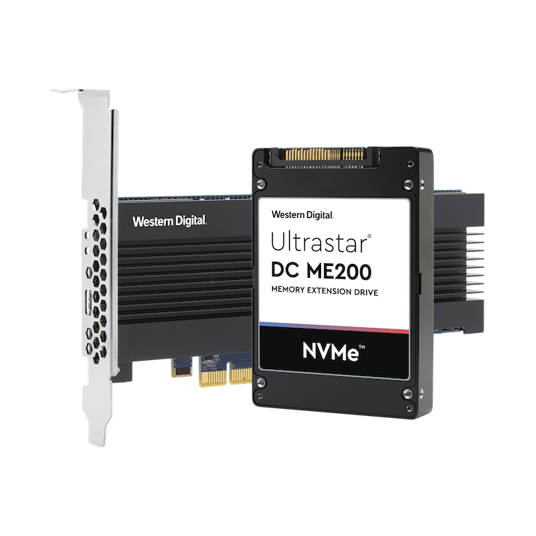 WD 瞄準記憶體內運算市場!首創 Ultrastar DC ME200 記憶體擴充硬碟