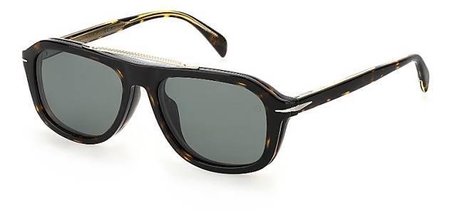 DB 7006長方形太陽眼鏡隨鏡附送方便實用的磁性夾式鏡片。(互聯網)