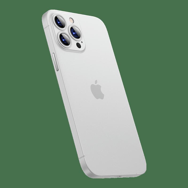 13系列 極輕薄裸機手感蛋殼全包覆手機殼 -珍珠白 iPhone13 Pro Max (3鏡頭 6.7