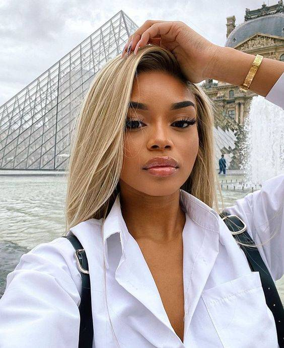 7 Warna Rambut Terang Untuk Kulit Gelap Agar Tidak Kusam Dan Cara Menatanya Yang Tepat Womantalk Com Line Today