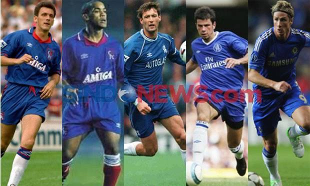 Lima Pemain Chelsea yang Dikutuk Nomor Punggung 9 Ini Dia !
