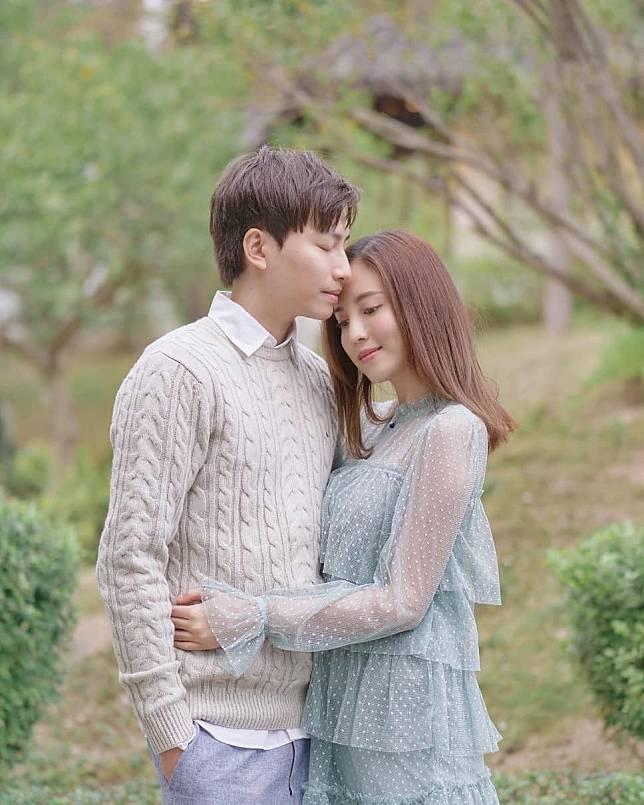 雨僑和羅力威結婚兩年。