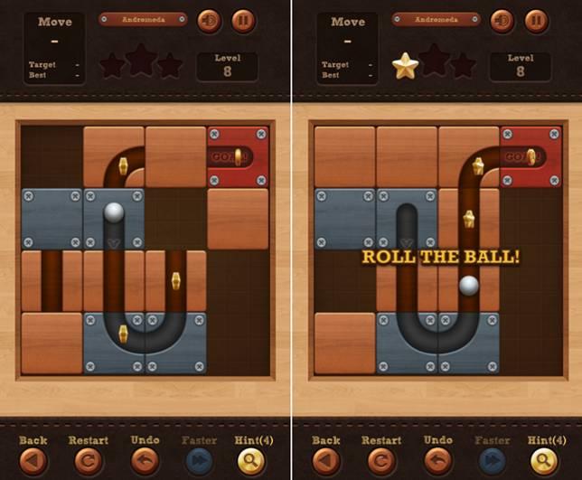 玩家要將板塊滑來滑去,目的是讓波子順利通過管道。