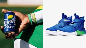 新聞分享 / 夏天將近雪碧也來了 Nike LeBron Soldier 12 FlyEase 新色源自一支廣告