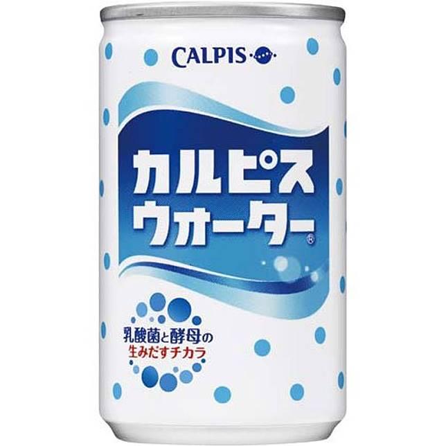 排第3位的Calpis Water為乳酸菌飲料Calpis的「溝淡」版本,酸甜度來得更易接受,備受不喜歡碳酸飲料的朋友追捧。(互聯網)