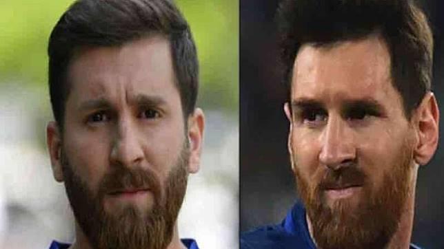 Lionel Messi kw dari Iran