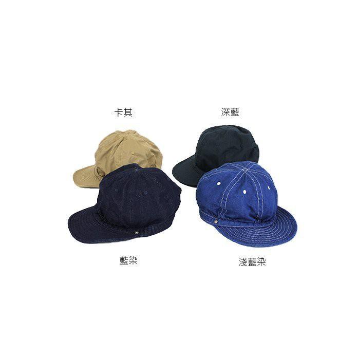 DECHO KOME CAP 基本款 藍染 六片 短帽簷 棒球帽 【D-1】日本品牌 日本製