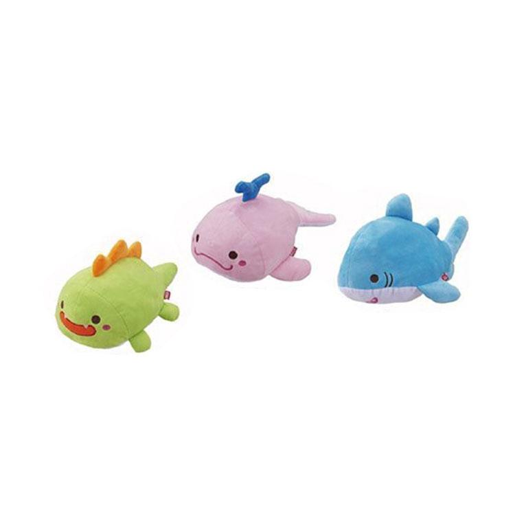 *WANG*日本Bonbi《寵物用造型玩具/恐龍/鯨魚/鯊魚》三款任選