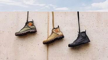 黑色暴雨也不怕!防水輕身Palladium靴的4款穿搭推介