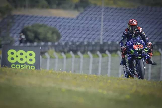 Hasil Kualifikasi MotoGP Spanyol 2021: Quartararo Pole Position, Marquez dan Rossi Merana