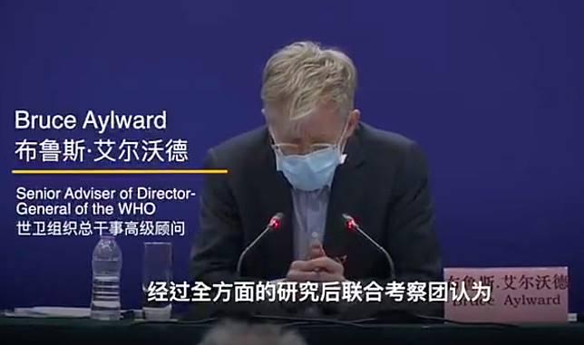 ที่ปรึกษาอาวุโสขององค์การอนามัยโลกกล่าวว่า ทั่วโลกต้องการประสบการณ์จากประเทศจีนในการรับมือกับโรคระบาดในครั้งนี้