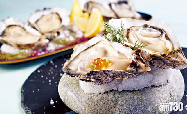灣景國際灣景廳「鮮蠔.虎蝦」二重奏 自助晚餐