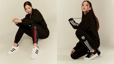 adidas黑色ADICOLOR運動套裝 極簡復古風格重新詮釋秋冬時尚
