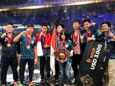 Kalahkan RRQ 4-3, EVOS Legends Juarai Turnamen M1 World Championship