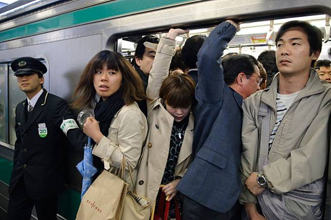 Six ways Japanese women can deter gropers on trains and