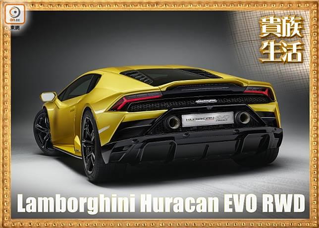 Huracán EVO RWD 好玩在採用後輪驅動,加上車載的P-TCS高性能牽引力控制系統經專門調校,大大提升出彎牽引力和靈活性。(互聯網)