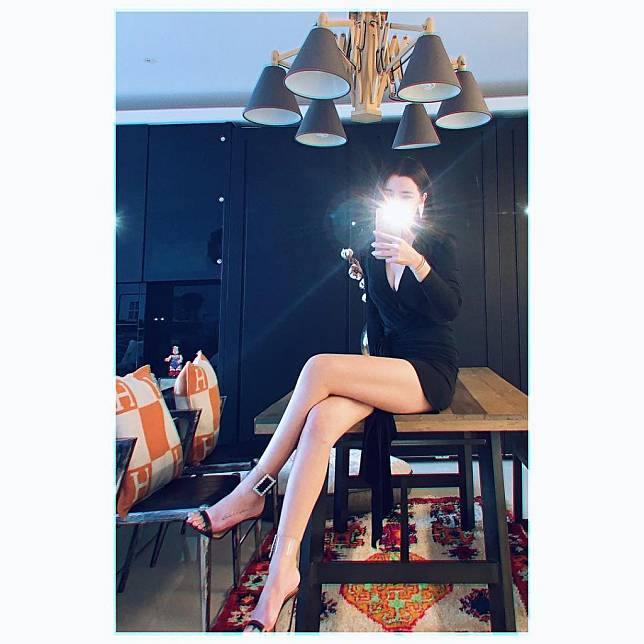 李毓芬褲子短到像沒穿 「勾魂美人腿」引誘犯罪, 網路正妹美女分享