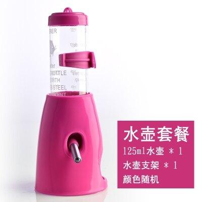 小寵物飲水器 倉鼠兔子金絲熊荷蘭豬滾珠水壺 防漏喂水喝水器用品