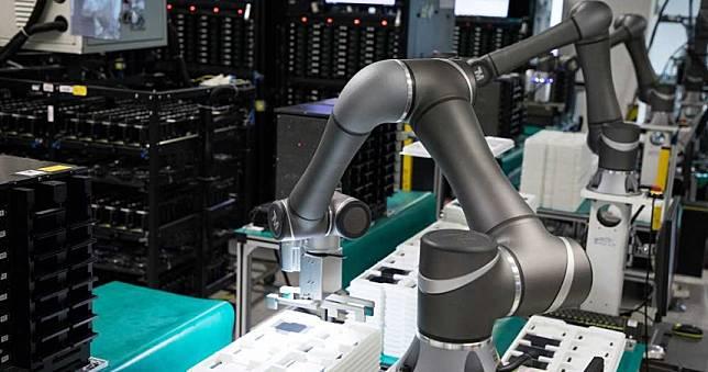 客制化工廠產能提升70% 台灣搶占全球工業機器人市場