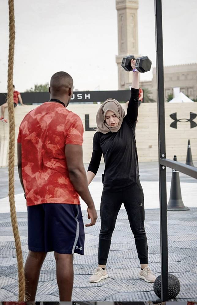 'People would tell me to remove my scarf': Muslim CrossFit athlete Nastassia Kaddour readies for her first CrossFit Games