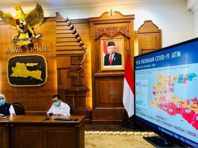 Khofifah: Zona Merah di Jawa Timur Jadi 18 Wilayah