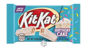 Kit Kat 推出全新「生日蛋糕」口味!