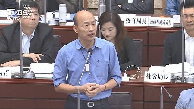 高雄市長韓國瑜。圖/TVBS資料畫面